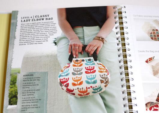 Tulip print bag
