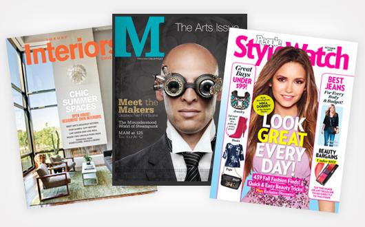 Magazine sightings
