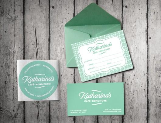Katharinas Cafe design work