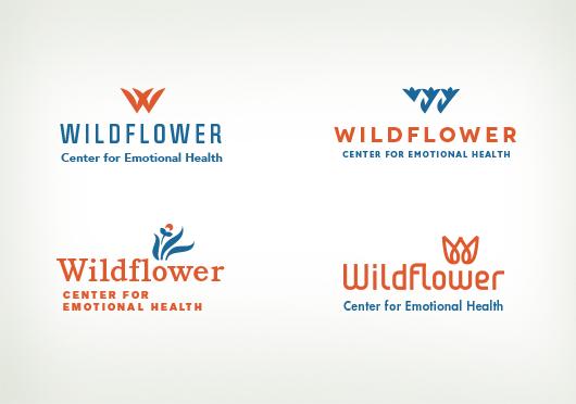 Wildflower logo concepts