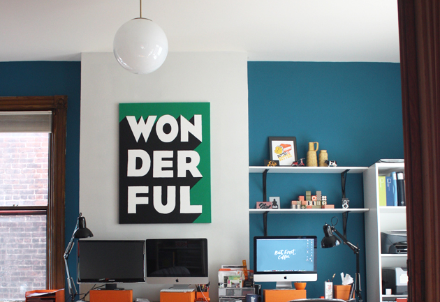 these typographic wall art - photo #10