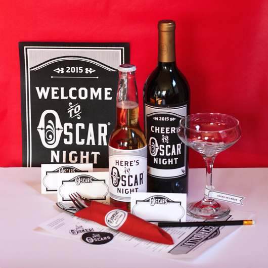 Printable Oscar party kit