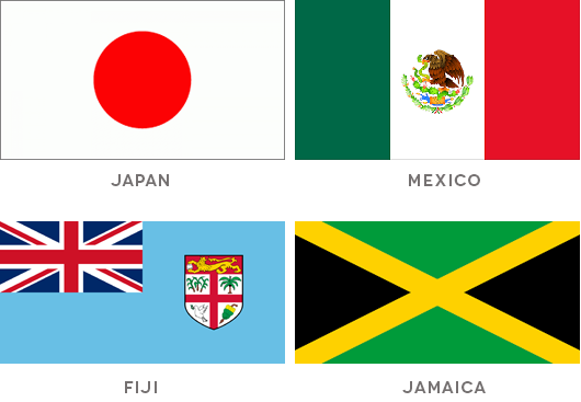 Good bad flag design examples