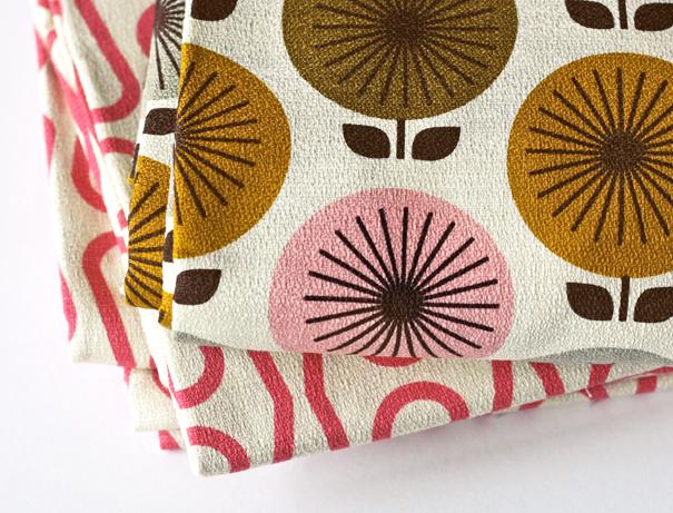 Barkcloth fabric by Jessica Jones