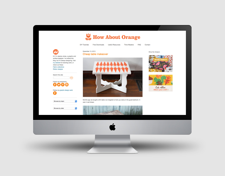 How About Orange blog