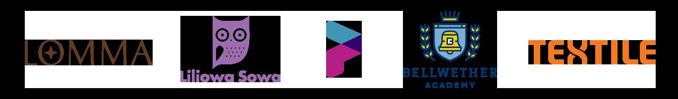 Logo examples by Jessica Jones
