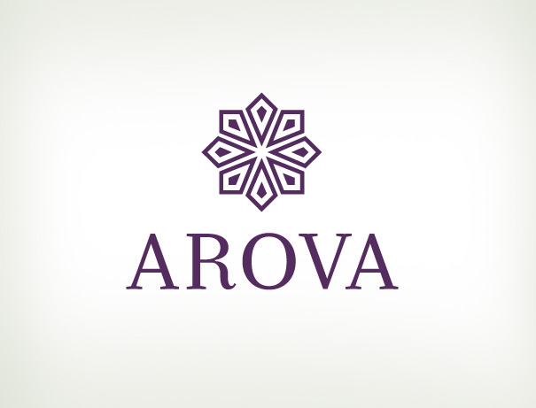 Arova fashion jewelry logo