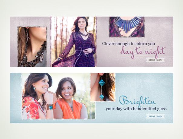 Arova fashion website branding
