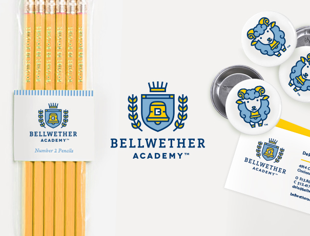Bellwether Academy preschool brand identity