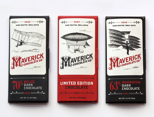 Chocolate company brand identity by Jessica Jones