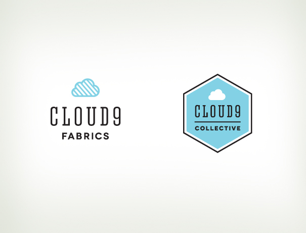 Cloud9 Fabrics logo branding set