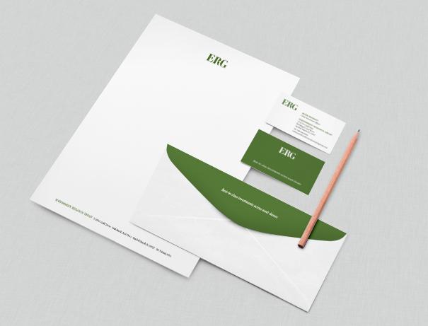 Financial services letterhead design