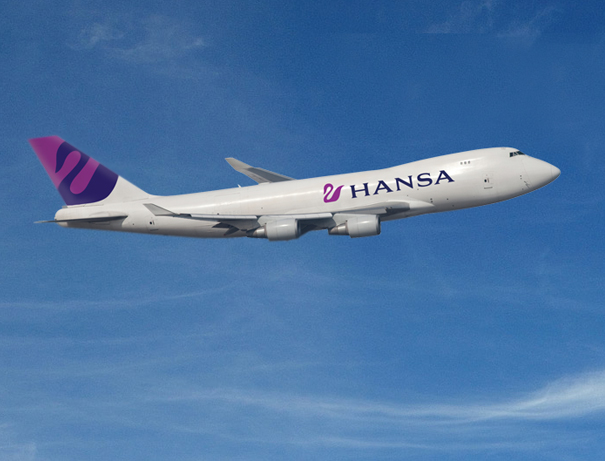 Hansa Airlines livery design