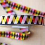 Harlequin modern ribbon design