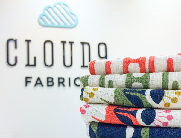 Identity design for fabric company