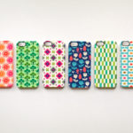 Phone case with surface pattern design