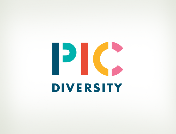 PicDiversity stock photo company brand identity