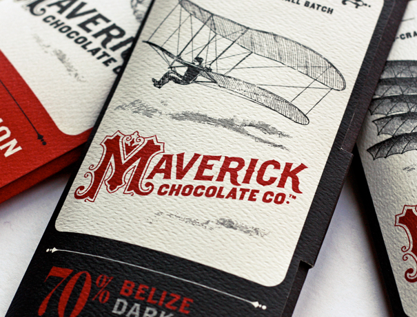 Vintage chocolate packaging