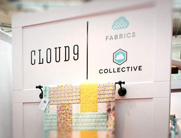 cloud9 fabrics trade show booth design