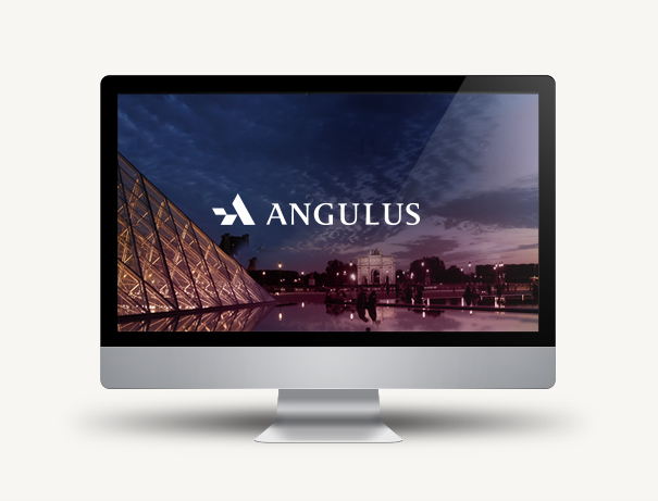 Angulus logo on screen
