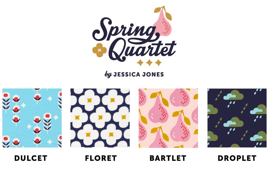 corduroy print fabric by Jessica Jones