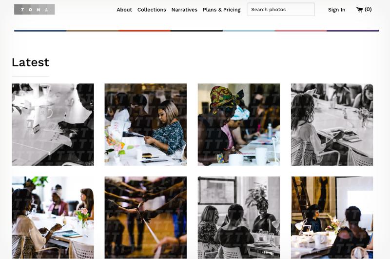 tonl diverse stock photo site